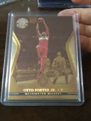 Otto Porter Jr. *Gold /10 Ssp (2017-18 Opulence) Washington Wizards...