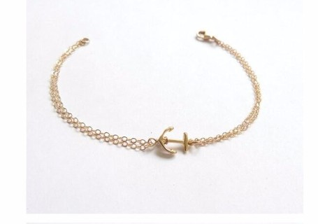 Best Friend Anchor Bracelet