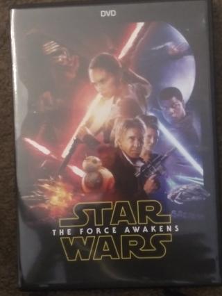 Star Wars: Episode VII: The Force Awakens DVD