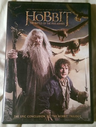THE HOBBIT~THE BATTLE OF THE FIVE ARMIES