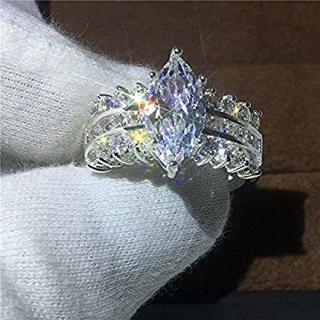 5 ctw.diamond ring sz 8 new fast free shipping