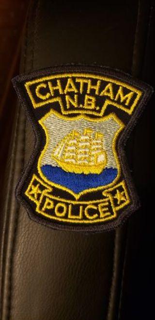 Chatham, New Brunswick Police patch