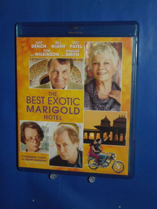 The Best Exotic Marigold Hotel Blu-Ray Like New Judi Dench Bill Nighy Dev Patel Tom Wilkinson