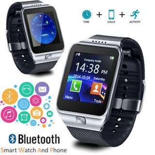 Smart Watch And Phone Bluetooth Sync w/ Camera For All iPhone Android SmartPhone