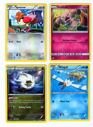 Pokemon 4 Cards