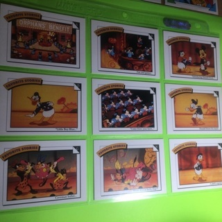 9 Disney's Favorite Stories Cards!