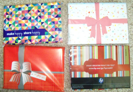 4 packs - photo paper and envelopes