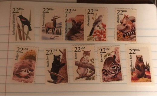 All 10 Stamps