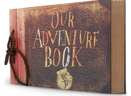 Photo Album Scrapbook, Our Adventure Book 12x9 Inches