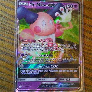 Pokemon - Mr Mime GX