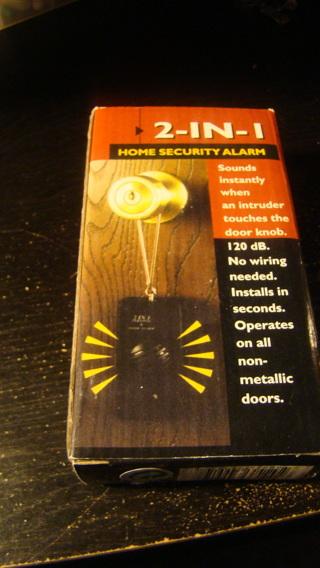 home security door alarm