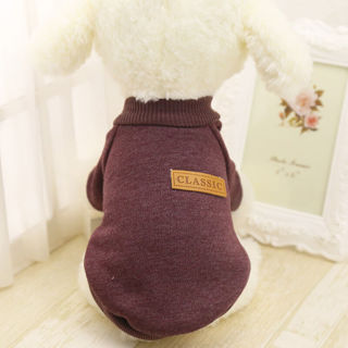 Dog Shirt , Pet Coat Dog Jacket , Spring Clothes , Sweater Coat Clothing Apparel New ,