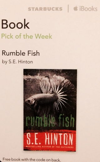 a summary and review of rumble fish by s e hinton Rumble fish se hinton pdf in 1975, se hinton theby s rumble fish se hinton review rumble fish se hinton summary the characters in rumble fish have.