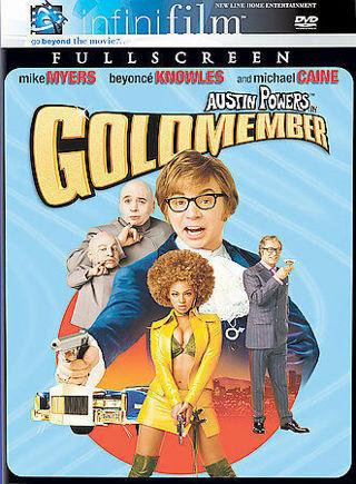 Austin Powers in Goldmember (DVD, ⭐DISC ONLY ,⭐ Full Frame)