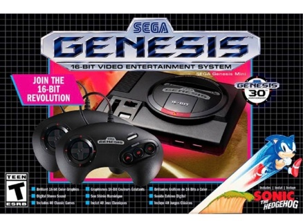 Brand New Segway Genesis Mini Classic 40 Built in Game