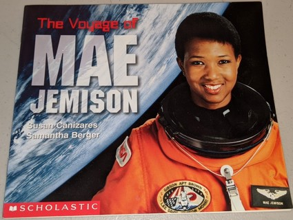 "1999 ""The Voyage of MAE JEMISON"" NASA Astronaut - 16 pages 8"" x 7"""