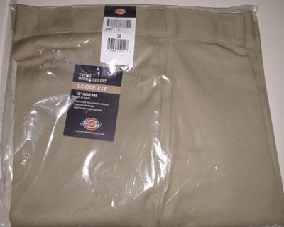 New! Men's Dickies Work Shorts size 36