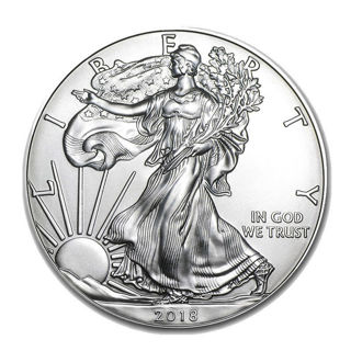 2018 - 1 oz. American Silver Eagle New Uncirculated