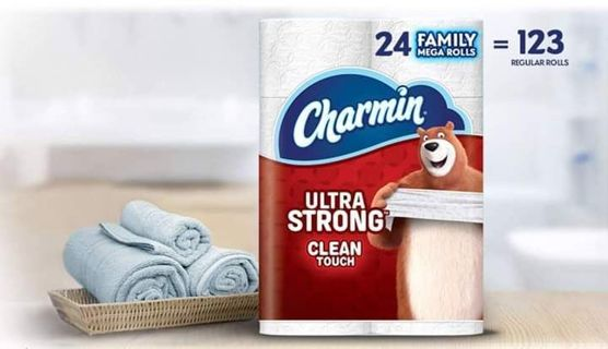 ✔~ Charmin Ultra Strong Toilet Paper, Family Mega Roll, 24 MEGA ROLLS ~ ✔