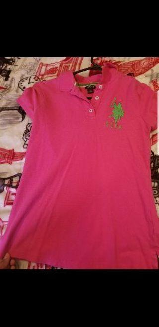 ♡Pink polo shirt ♡