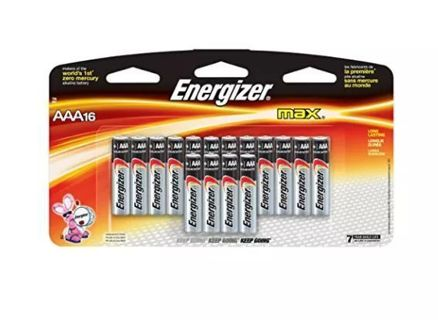 ✔~ Energizer Max AAA Batteries Alkaline (24 Count) ~ 24 > NOT 16 ✔