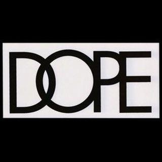 DOPE Brand Sticker Free Shipping Cool Winner Shwag Like Diamond Crooks Castles Supreme Swag