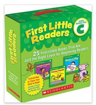 First Little Readers Parent Pack: Guided Reading Level C