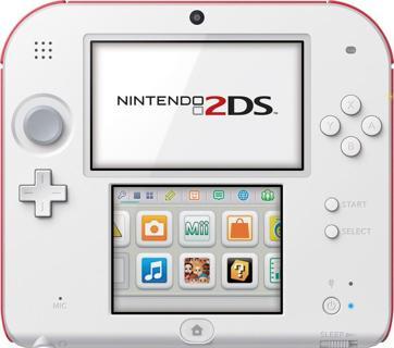 Nintendo - Nintendo 2DS with New Super Mario Bros. 2 - Scarlet Red