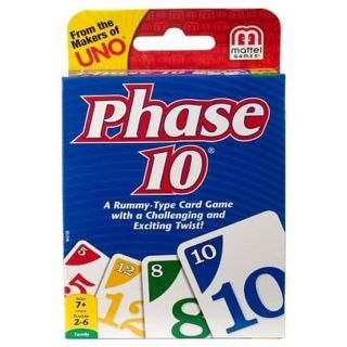 ✔ BRAND NEW • PHASE 10 CARD GAME ✔