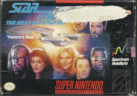 Vintage Nintendo SNES Star Trek Complete in Original Box