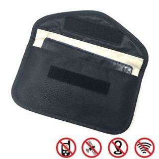 Cell Phone RF Signal Blocker Jammer Anti-Radiation Shield Cover Case Bag Pouch