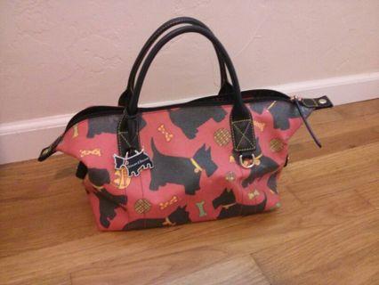 Dooney Bourke Scottie Dog Duffle Handbag
