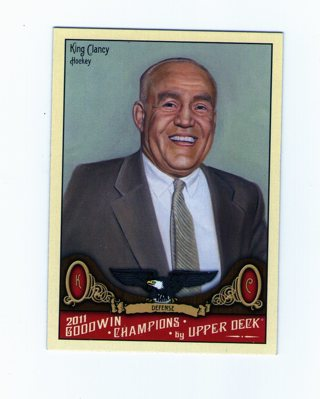 King Clancy Card