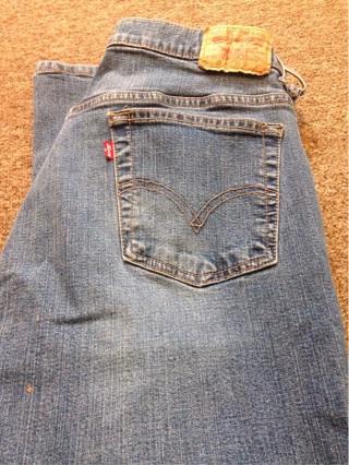 Woman's Levi 515 bootcut