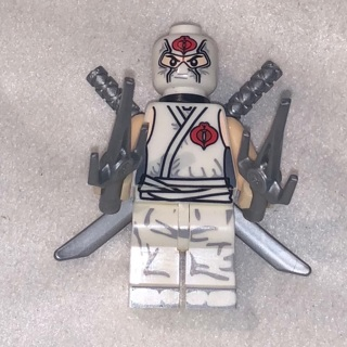 New Storm Shadow Minifigure Building Toy Custom Lego