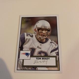 2006 Topps Heritage Tom Brady Card