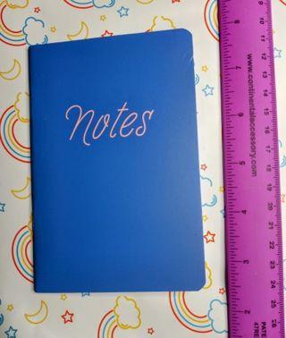 NEW Mini Blue Notebook