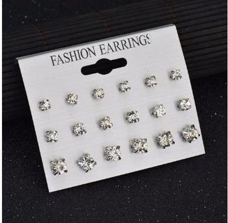 New Style Symbol Stud Earrings Set for Women Gift E958