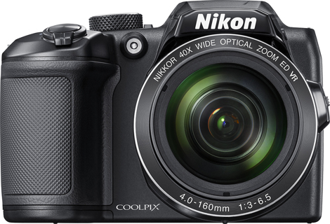 Nikon - COOLPIX B500 16.0-Megapixel Digital Camera - Black