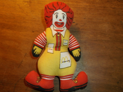 McDonalds 70's Happy Meal toy doll