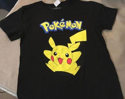 NEW Pikachu Shirt Pokemon Tee