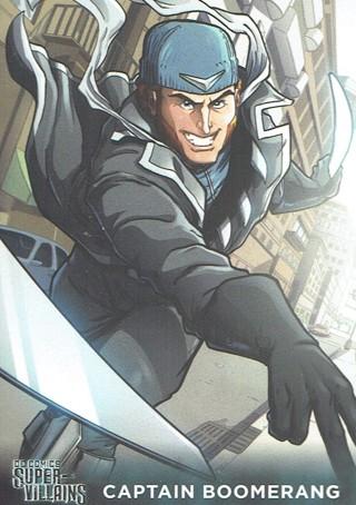DC Comics Super Villains Collectible Card Captain Boomerang #13