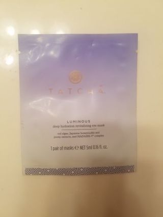 New revitalizing eye mask. Tatcha brand unopened.