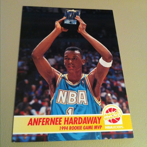 Free: Anfernee Hardaway Rookie Game MVP Nba Hoops 1994