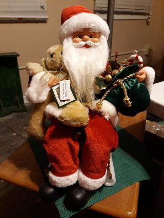 Santa in Rocking Chair