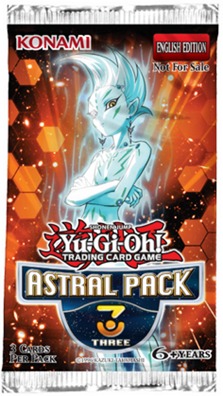 NEW YU-GI-OH! BOOSTER PACK Astral Pack YuGiOh Cards Pack