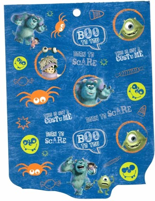 Monster Inc Halloween Stickers