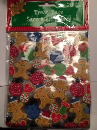 ❄ (New) 20 Ct. Christmas Cello Treat Bags ❄