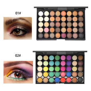 40 Colors Eyeshadow Cream Eye Shadow Makeup Cosmetic Matte Palette Shimmer Set Y