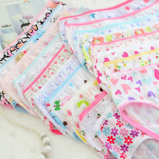 4Pcs Baby Kids Underpants Soft Cotton Panties Child Underwear Short Briefs